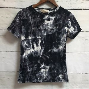 Michael Kors tee black/white size small